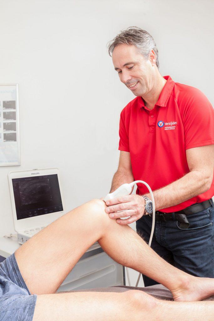Kniepijn, knieblessure, echografie, Fysiotherapie Boxtel, fysiotherapie 's-Hertogenbosch, fysiotherapie Schijndel